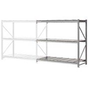 "Extra High Capacity Bulk Rack With Steel Decking 72""W x 48""D x 96""H Add-On"