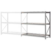 "Extra High Capacity Bulk Rack With Steel Decking 96""W x 24""D x 120""H Add-On"