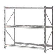 "Extra High Capacity Bulk Rack Without Decking 96""W x 24""D x 120""H Starter"