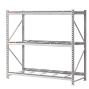 "Extra High Capacity Bulk Rack Without Decking 96""W x 48""D x 120""H Starter"