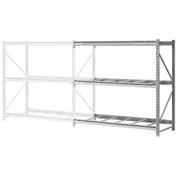 "Extra High Capacity Bulk Rack Without Decking 96""W x 24""D x 120""H Add-On"