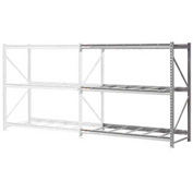 "Extra High Capacity Bulk Rack Without Decking 96""W x 36""D x 120""H Add-On"