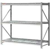 "Extra High Capacity Bulk Rack With Wire Decking 72""W x 48""D x 96""H Starter"