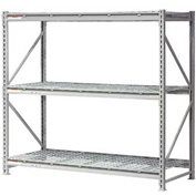 "Extra High Capacity Bulk Rack With Wire Decking 72""W x 48""D x 120""H Starter"