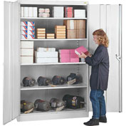 Lyon Storage Cabinet PP1090  - 36x24x78 - Putty