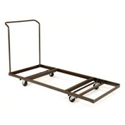 Table Cart For Rectangular Folding Tables Holds 12 - up 72""