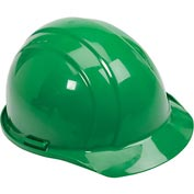 ERB™ 19768 Americana Hard Hat, 4-Point Pinlock Suspension, Green