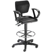 Urethane Multifunction Chair Black