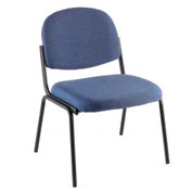 Pinehurst Blue Contoured Stack Chair