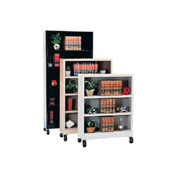 "Sandusky Additional Shelf for 36""W Steel Mobile Bookcase - Black"