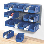 Wall Panels With Hanging Bins