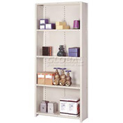 "Lyon Steel Shelving 22 Gauge 36""W x 12""D x 84""H Closed Clip Style 5 Shelf Py Starter"