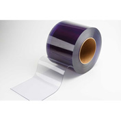 "TMI PVC Strip Curtain Door Bulk Roll - Standard Grade Smooth Clear - 12"" x 105' x .080"""