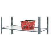 Additional 48 x 24 Wood Shelf for Easy Adjust Boltless Shelf Trucks