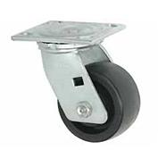 "Faultless Swivel Plate Caster 1431-5 5"" Phenolic Wheel"