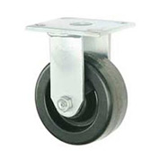 "Faultless Rigid Plate Caster 3431-6 6"" Phenolic Wheel"