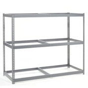 "Wide Span Rack 60""W x 24""D x 96""H With 3 Shelves No Deck 1200 Lb Capacity Per Level"