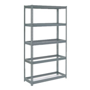 "Extra Heavy Duty Shelving 48""W x 12""D x 96""H With 5 Shelves, No Deck"