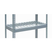 "Additional Shelf Level Boltless Wire Deck 36""W x 24""D"