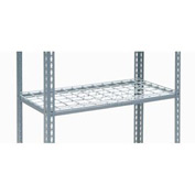 "Additional Shelf Level Boltless Wire Deck 48""W x 24""D"
