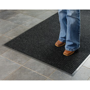 Deep Cleaning Ribbed Entrance Mat 2x3 Charcoal