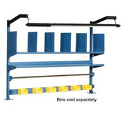 "72""W  Riser Kit With Dividers, Shelves & LED Light Kit"