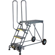 3 Step Steel Climbing Stock Picking Ladder, 600 lb. Capacity - RLS3
