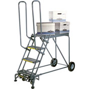 7 Step Steel Climbing Stock Picking Ladder, 600 lb. Capacity - RLS7