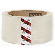 "3M Carton Sealing Tape 371 2"" x 55 Yds 1.9 Mil Clear - Pkg Qty 36"