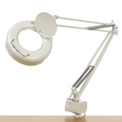 3 Diopter Swing Arm Magnifying Lamp White