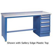 72 x 30 Maple Safety Edge 4 Drawer Workbench