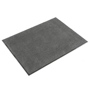 Plush Super Absorbent Mat 4'W Cut Length Up To 60 Ft. Charcoal