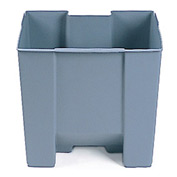 Rubbermaid® Rigid Liner For 8 Gallon Step-On Trash Can, Gray - RCP6243GRA