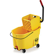 Rubbermaid Wavebrake® Mop Bucket & Wringer Combo w/Side Pressure - 44 Qt.