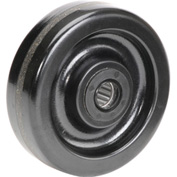 "5"" x 1-1/2"" Molded Plastic Wheel - Axle Size 3/4"""