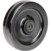 "8"" x 2"" Molded Plastic Wheel - Axle Size 3/4"""