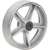 "8"" x 2"" Semi-Steel Wheel - Axle Size 5/8"""