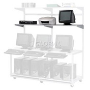 "Additional 72""W x 18""D Shelf for LAN Workstation, 1/Pack"