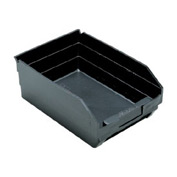 "Quantum Recycled Shelf Bin QSB107BR Nestable, 8-3/8""W x 11-5/8""D x 4""H - Pkg Qty 20"