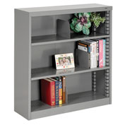 "Quick Adjust Steel Bookcase - 42""H Gray"