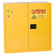 Eagle Flammable Cabinet with Self Close Double Door 30 Gallon