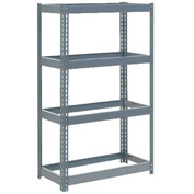 "Extra Heavy Duty Shelving 48""W x 18""D x 84""H With 5 Shelves, No Deck"