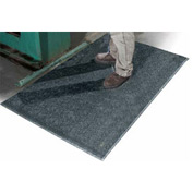"""All Purpose 36inch Wide 1/2"""" Thick Mat Black"""