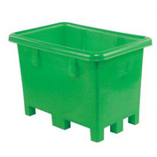 "Dandux Pallet Container 51-0807F - 42""L x 29""W x 31'H Single Wall, Green"