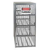 Cylinder Storage Manual Single Door Horizontal Cabinet