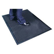 Cushion Step Mat Black 24x36