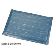 Marbleized Top Ergonomic Mat 2x60 Foot Blue