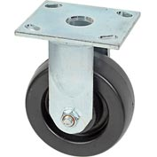 "Faultless Rigid Plate Caster 3461S-5 5"" Polyolefin Wheel"