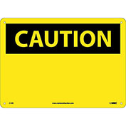 Safety Signs - Caution Blank - Fiberglass