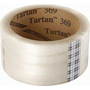 "3M Tartan Carton Sealing Tape 369 2"" x 55 Yds 1.6 Mil Clear - Pkg Qty 36"